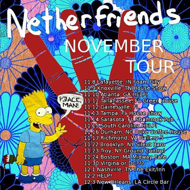 Netherfriends November Tour