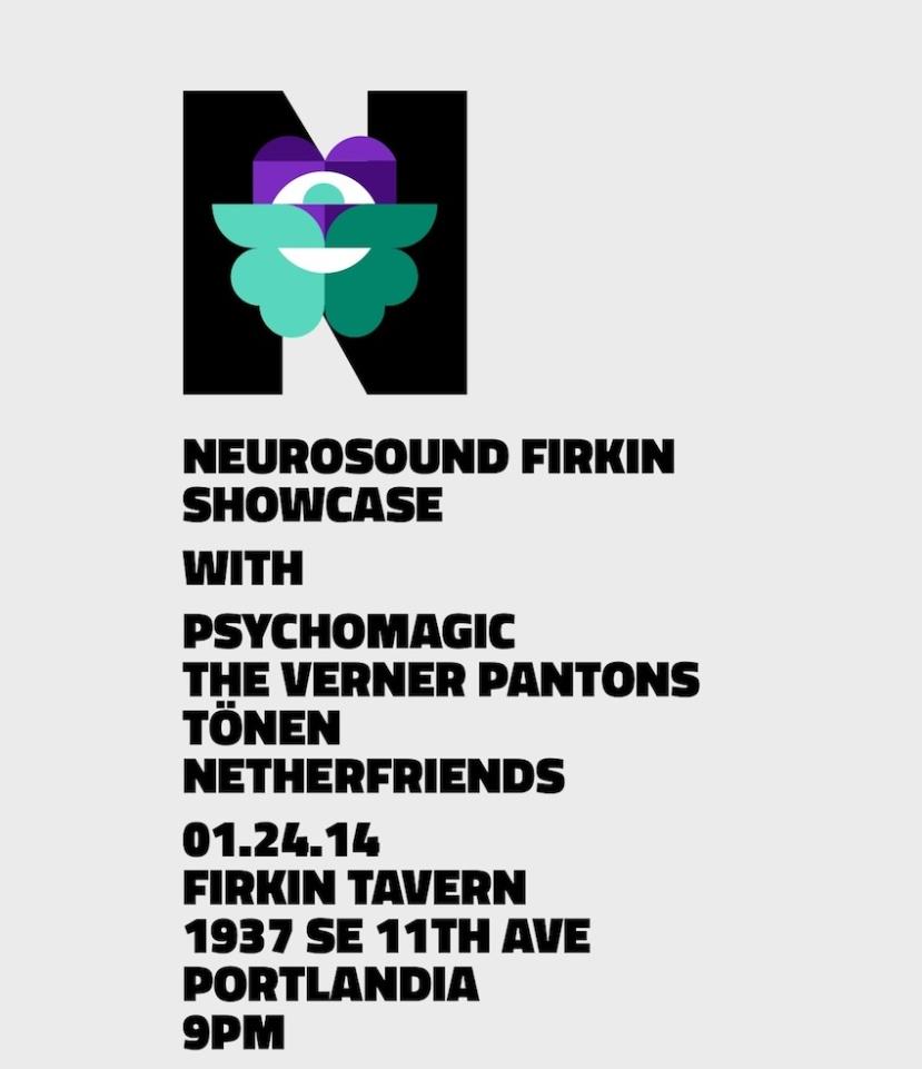 01.24.14: Netherfriends performing at Firkin Tavern - Portland, OR.