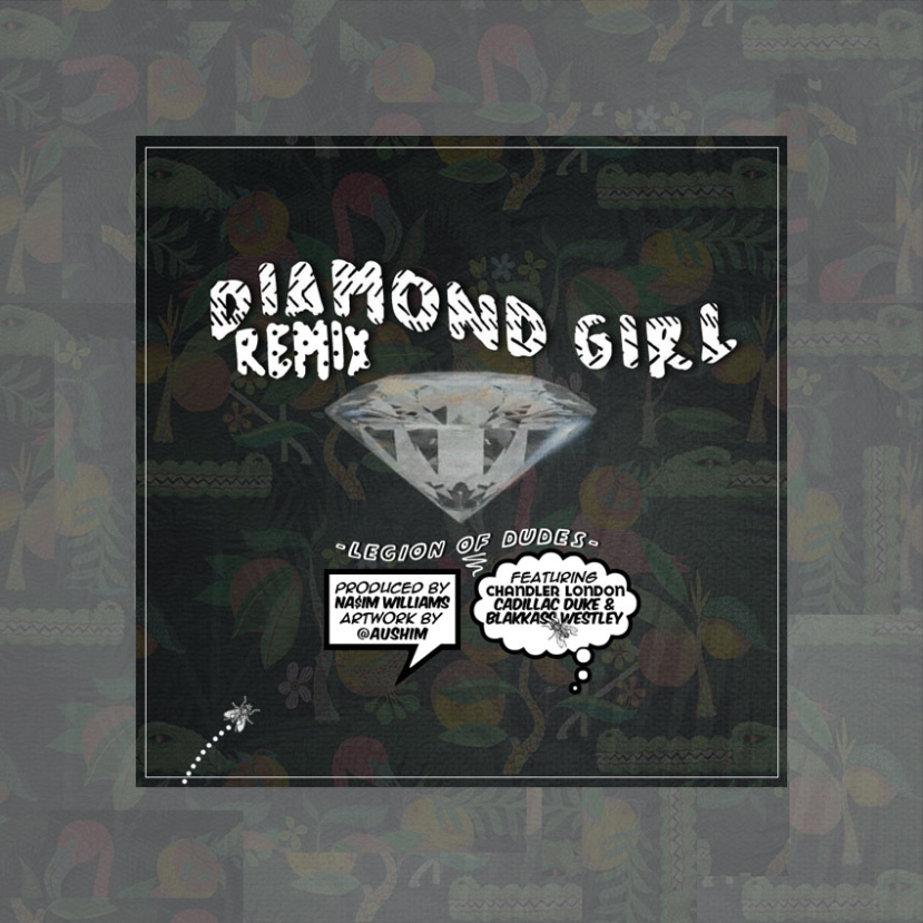 "Listen: Blakkass Westley x Chandler London: ""Diamond Girl"" (Remix) - Available on SoundCloud"