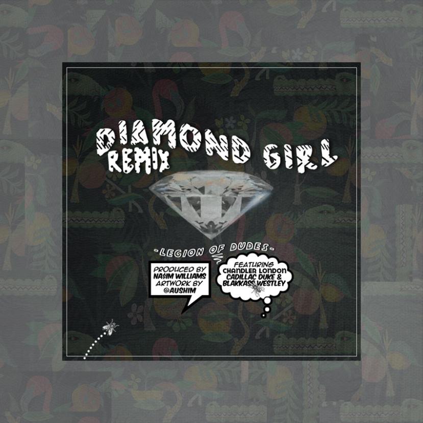 "Listen: Blakkass Westley x Chandler London: ""Diamond Girl"" (Remix) - Available on SoundCloud"